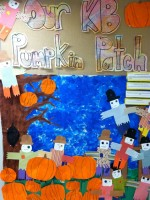 Kindergarten Scarecrow and Pumpkin Patch