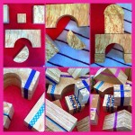 Washi Tape Building Blocks