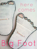 DIY Big Foot Shoes