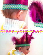 Washi Tape Feather Headdress