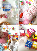 Invitation to Play – Unwrapping and Stacking with Blocks
