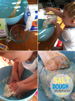 Salt Dough Sculptures for Toddlers