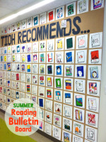 Summer Reading All School Bulletin Board