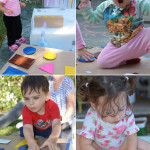 Sensory Boxes Part Two for Toddlers and Babies - duct tape and cardboard boxes