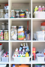 One Crafty Mom's Quest to Organize Her Art Supplies