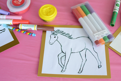 Horse and Pony Birthday Party Activities for 3 Year Olds
