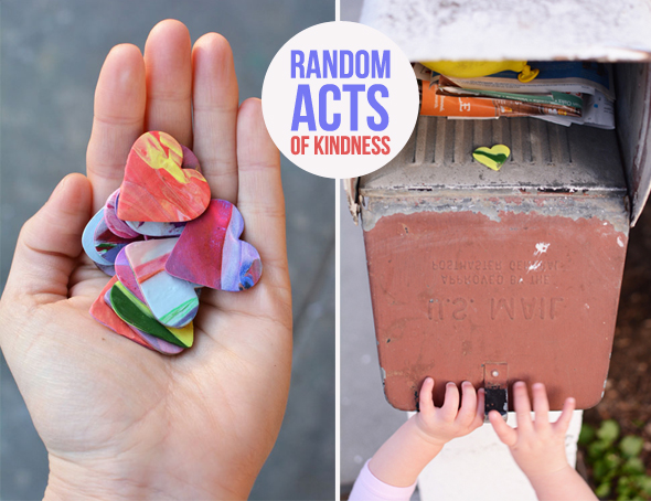 Make someone feel special today with this simple art project for kids.