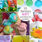 10 Sensory Art Activities for Toddlers | Meri Cherry Blog