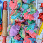 Rainbow Play Dough for Babies and Toddlers