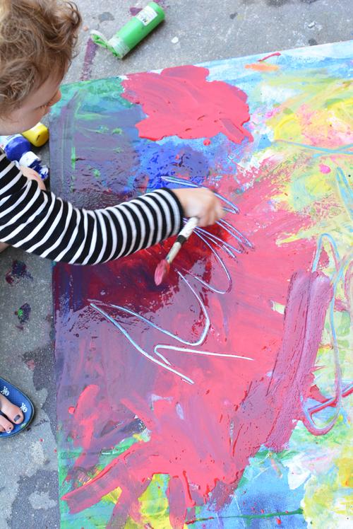 Canvas Art That Kids Can Paint