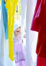 Invitation to Play – Fabric Clothesline for Kids