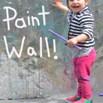 Painting Wall for Kids | Meri Cherry Art Play Groups
