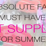Must Have Art Supply List for Summer | Meri Cherry Blog