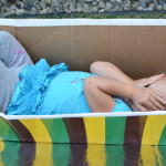 Make a Boat for kids from a Cardboard Box | Meri Cherry Blog