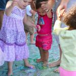 Feet Painting Disco Party | Meri Cherry Blog