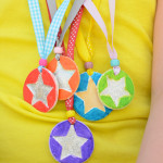 Make your own medal from Sculpey