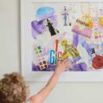 Mixed Media Collage Art for Toddlers