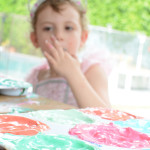 How to make yogurt paint for babies and toddlers - baby safe paint