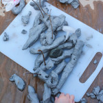 How to build clay structures with young children