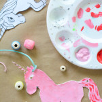 How to make sculpey necklaces - easy art activity for kids