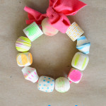 How to make painted wood bead bracelets
