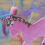 unicorn4Make Back to School  Sculpey Necklaces - art activity for kids