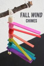Balsa Wood Fall Wind Chimes