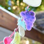 How to make a fruit garland - sukkah decoration