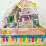 How to make an arts and crafts gift basket for the holidays