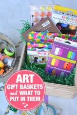The Best Art Supplies for Kids and DIY Art Gift Baskets