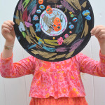 Rockin' Records - Recycled Art Project for Kids