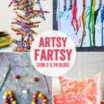 Artsy Fartsy Art Project Ideas for 3 to 5 Year Olds