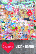 Be Mine Vision Board – Find Your True Love