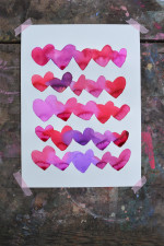 Bleeding Hearts – Art Project for Kids