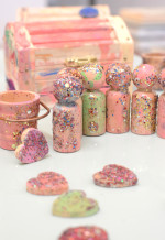 Handmade Glitter Toys for Imaginative Play