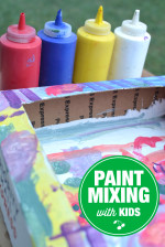 How to Mix Paints with Kids – A Step by Step Tutorial
