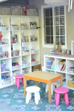 Art Studio and Backyard Art Space for Kids