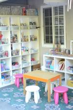 Art Studio and Backyard Art Space for Kids
