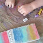 Mini Art Books for Kids - These are cheap and easy to make.