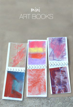Create Mini Art Books for Kids