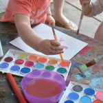 """Beginners Art Supply List for """"Non Crafty Moms"""""""