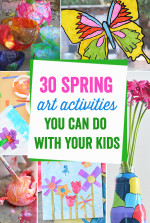 30 Spring Art Activities You Can Do With Your Child