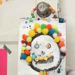 Make the best art from a cereal box! And I love these simple tinker trays!