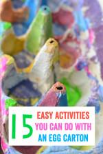 15 Easy Activities You Can Do With an Egg Carton