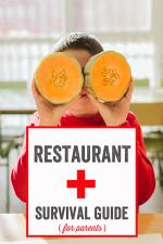Restaurant Survival Guide for Parents
