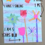 Make a Spring Garden Glyph - A fun artful way to introduce coding to young children. Go STEAM!