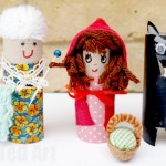 Little Red Riding Hood Craft - DIY Play Set or Story Telling Props