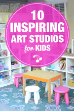 10 Inspiring Art Studios for Kids
