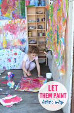 Let Them Paint – Here's Why