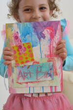 DIY Art Books for Kids